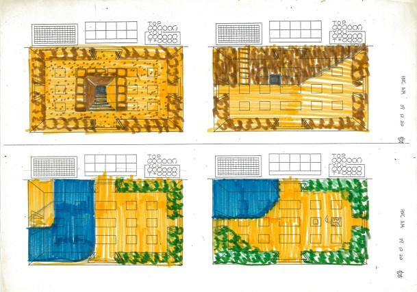 Shigeru Miyamoto's Zelda drawings
