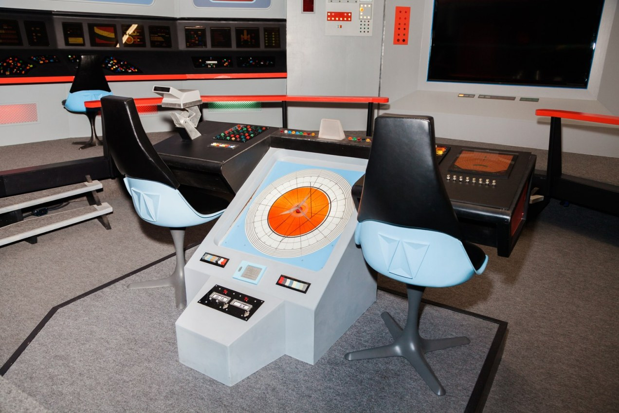 Original Enterprise bridge set