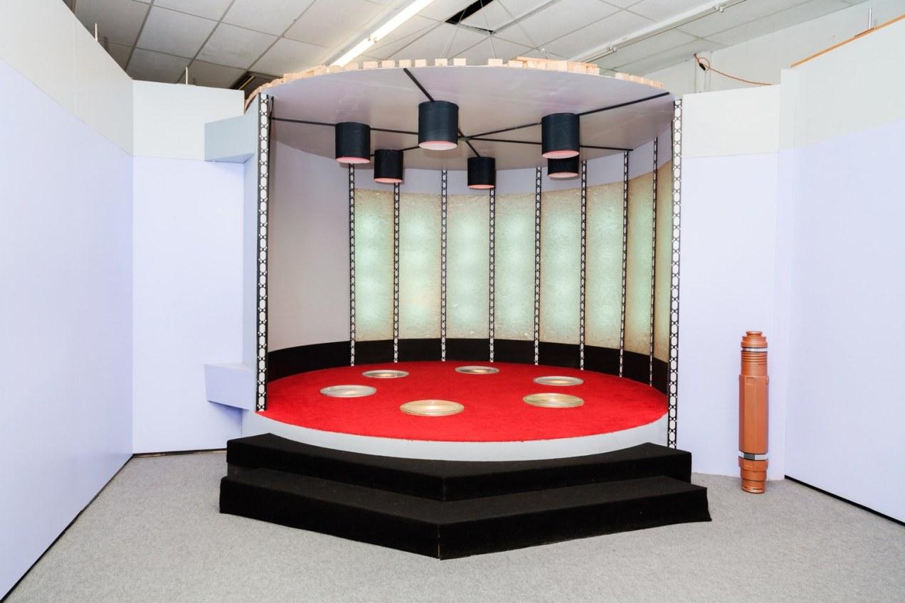 Original Enterprise transporter room set
