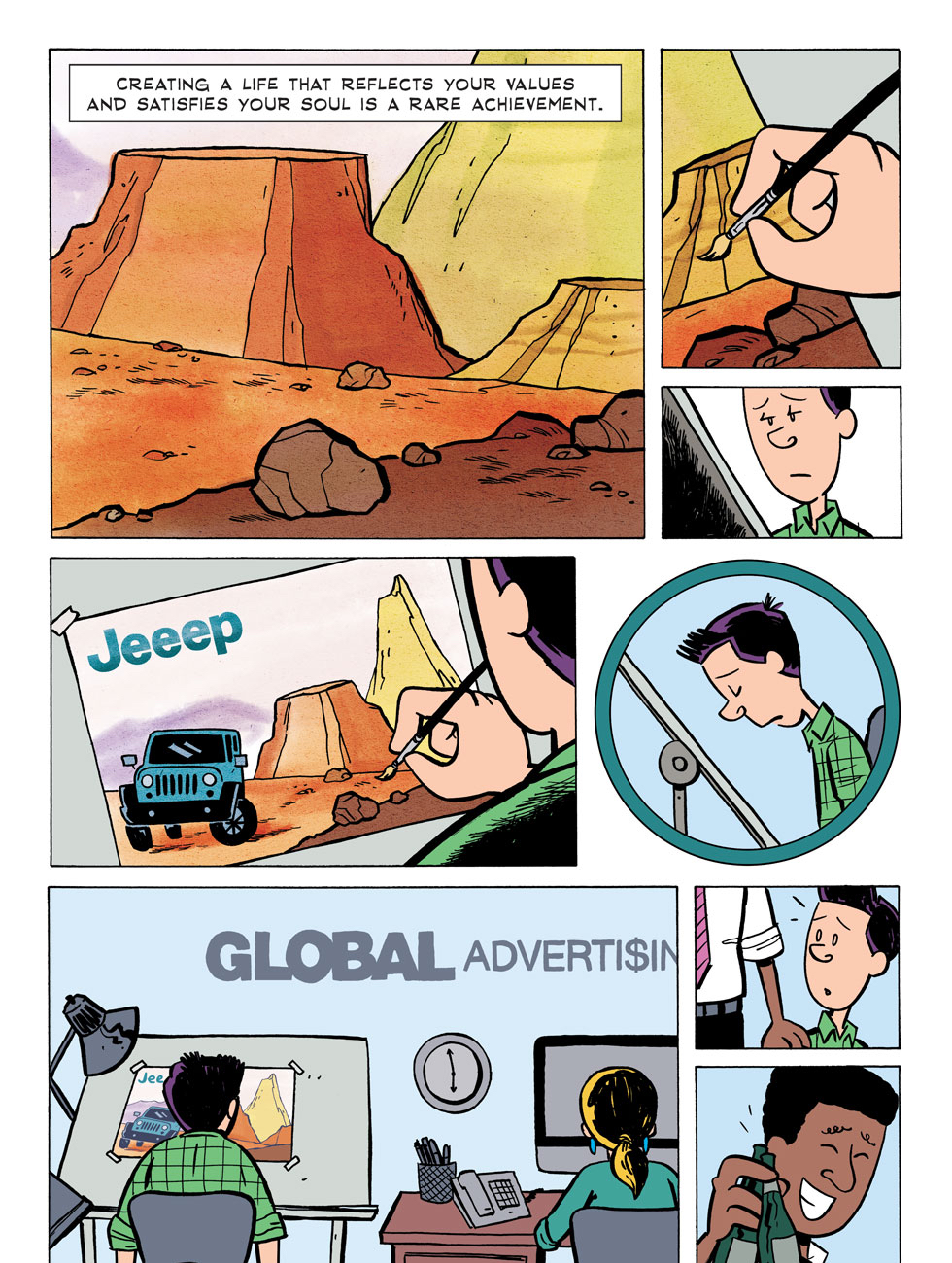 Zen Pencils: Bill Watterson