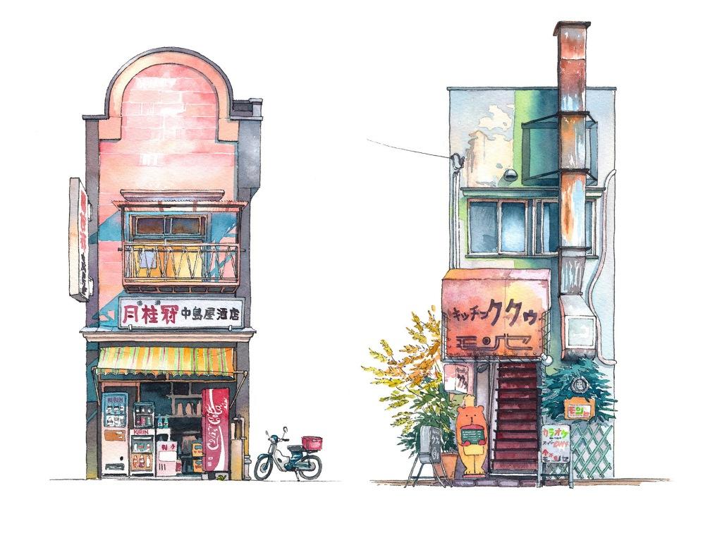 "Mateusz Urbanowicz ""Tokyo Storefront"" series"