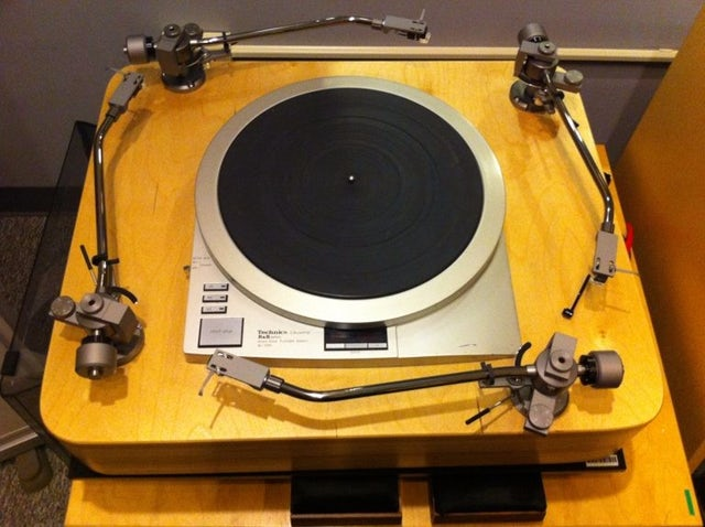 Internet Archive four-armed turntable