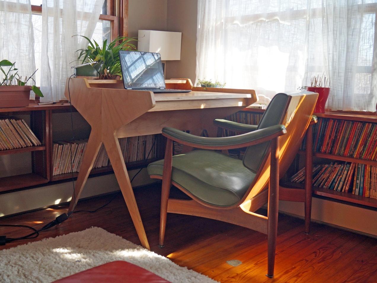 Desk by Caleb Kraft