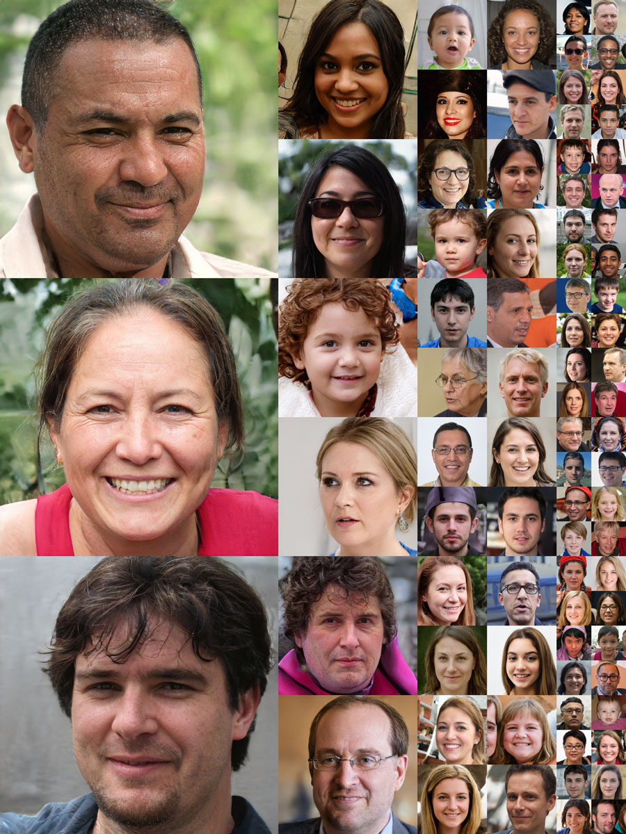 NVIDIA AI faces