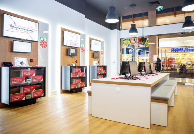 Raspberry Pi retail store Cambridge